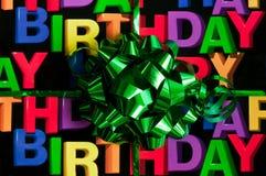 Feliz cumpleaños fotografía de archivo