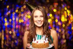 ¡Feliz cumpleaños! Foto de archivo libre de regalías