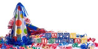 Feliz cumpleaños Fotografía de archivo libre de regalías