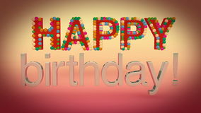 Feliz cumpleaños ilustración del vector