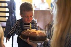 Feliz cumpleaños 2 años Fotos de archivo