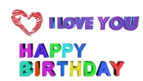 Feliz cumpleaños, animación
