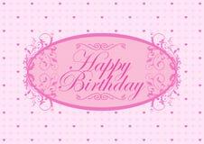 Feliz cumpleaños con amor Fotos de archivo libres de regalías