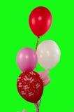 Feliz cumpleaños de los globos Fotos de archivo