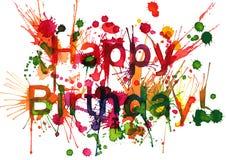 ¡Feliz cumpleaños! Fotos de archivo