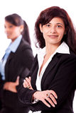 Feliz da diversidade da equipe do negócio isolado Foto de Stock