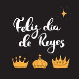 Feliz Dia De Reyes Fotos.Feliz Dia De Reyes Happy Day Of Kings Calligraphic