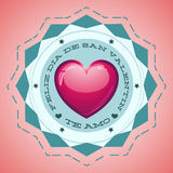 Feliz Dia de San Valentin - Happy Valentines day Stock Photos