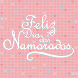 Feliz dia dos Namorados Stock Photos