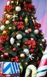 Feliz en la Navidad Imagen de archivo