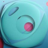 Feliz geometría Foto de archivo libre de regalías