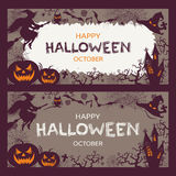 Feliz haloween Foto de Stock Royalty Free