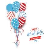 Feliz ô julho Imagem de Stock
