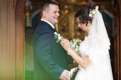 Feliz magnífico elegante romántico apacible por completo de los pares del amor, spr Fotografía de archivo libre de regalías