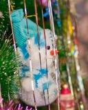 Feliz muñeco de nieve Fotografía de archivo libre de regalías