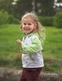 Feliz muchacha Imagenes de archivo