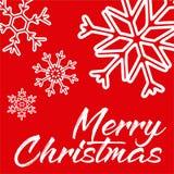 Feliz Natal Útil para o fundo, os cartões, os presentes etc. ilustração do vetor