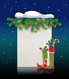 Feliz Natal Imagens de Stock