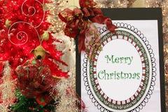 Feliz Natal Foto de Stock