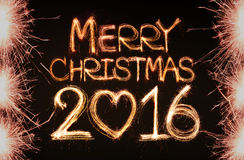 Feliz Natal 2016 Foto de Stock