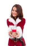Feliz Natal alegre! fotografia de stock