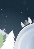 Feliz Natal. Ano novo feliz. ilustração do vetor