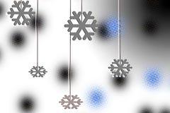 Feliz Natal, cartão do ano novo feliz Fotografia de Stock Royalty Free