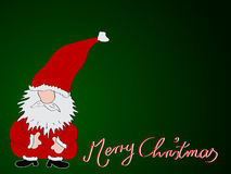 Feliz Natal do cartão do Xmas ilustração do vetor