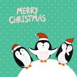 Feliz Natal do vetor Foto de Stock