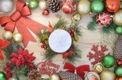 Feliz Natal e ano novo feliz fotografia de stock royalty free