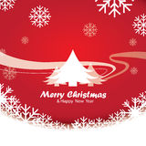 Feliz Natal e ano novo feliz, projeto Foto de Stock Royalty Free