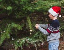 Feliz Natal e boas festas E fotos de stock