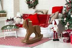 Feliz Natal e fundo do ano novo imagens de stock