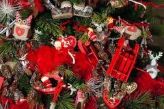 Feliz Natal e fundo do ano novo imagem de stock