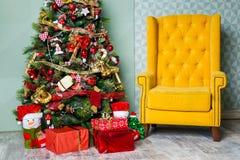 Feliz Natal e fundo do ano novo fotos de stock royalty free