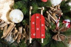 Feliz Natal e fundo do ano novo fotografia de stock royalty free
