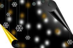 Feliz Natal e Yearcard novo feliz Imagem de Stock Royalty Free