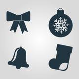 Feliz Natal feliz Fotos de Stock Royalty Free