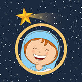 Feliz Natal feliz Fotografia de Stock Royalty Free