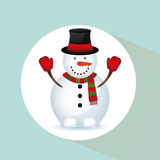 Feliz Natal feliz Imagens de Stock Royalty Free