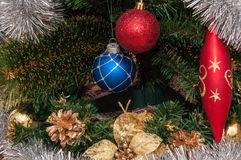 Feliz Natal feliz Imagens de Stock