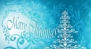 Feliz Natal, gelo do Natal Fotos de Stock