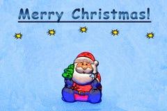 Feliz Natal que cumprimenta Imagens de Stock Royalty Free