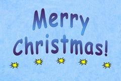 Feliz Natal que cumprimenta Fotografia de Stock