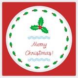 Feliz Natal que cumprimenta card52 Imagem de Stock Royalty Free