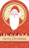 Feliz Natal Santa Claus Imagens de Stock