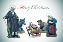 Feliz Navidad Imagen de archivo libre de regalías