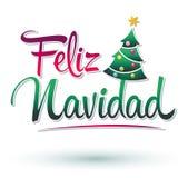 Feliz Navidad Imagem de Stock