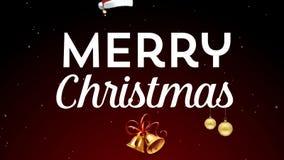 Feliz Navidad almacen de metraje de vídeo
