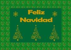 Feliz Navidad Lizenzfreies Stockbild